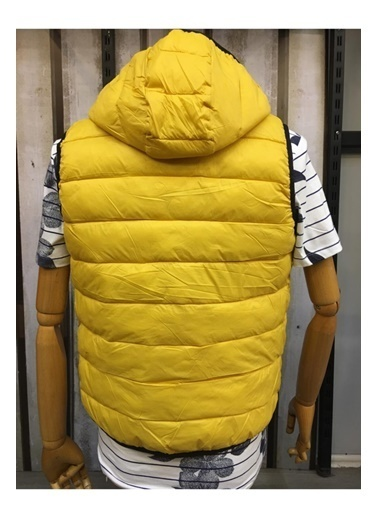 Jack & Jones JJEMAGIC BODY WARMER HOOD STS 12173753Yolk YelXXL              Renkli